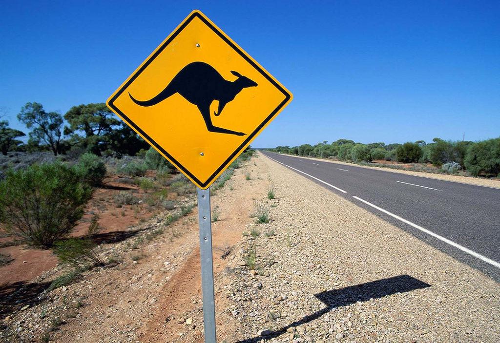 Australien also...