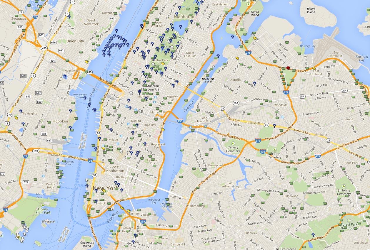 Geocachees New York